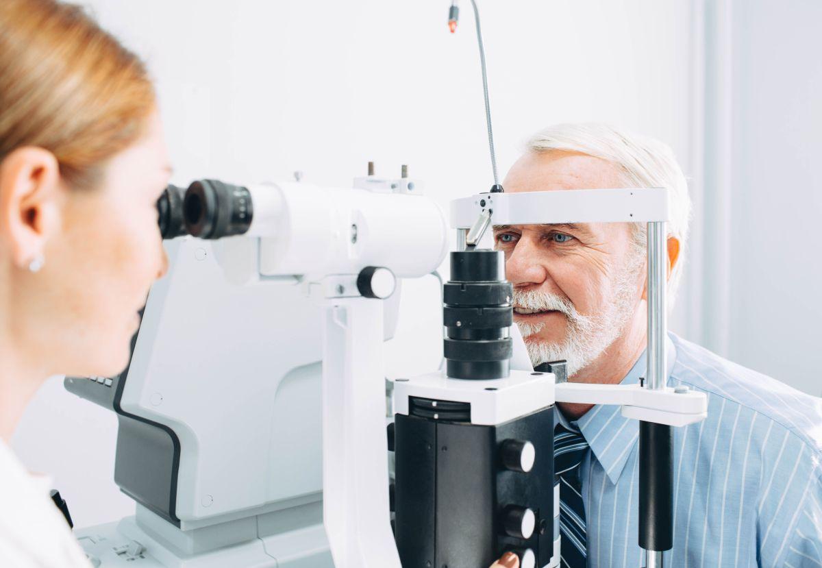 Visita per diagnosi pterigio