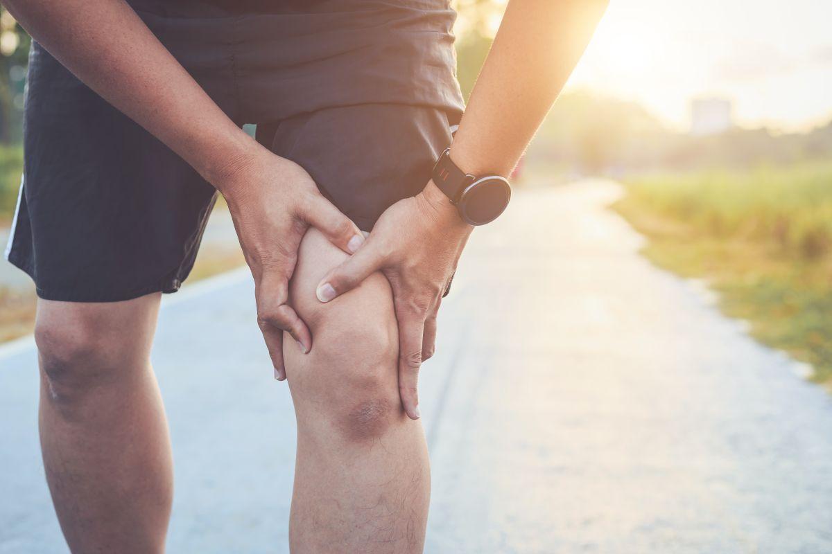 Lesione del legamento crociato durante l'allenamento