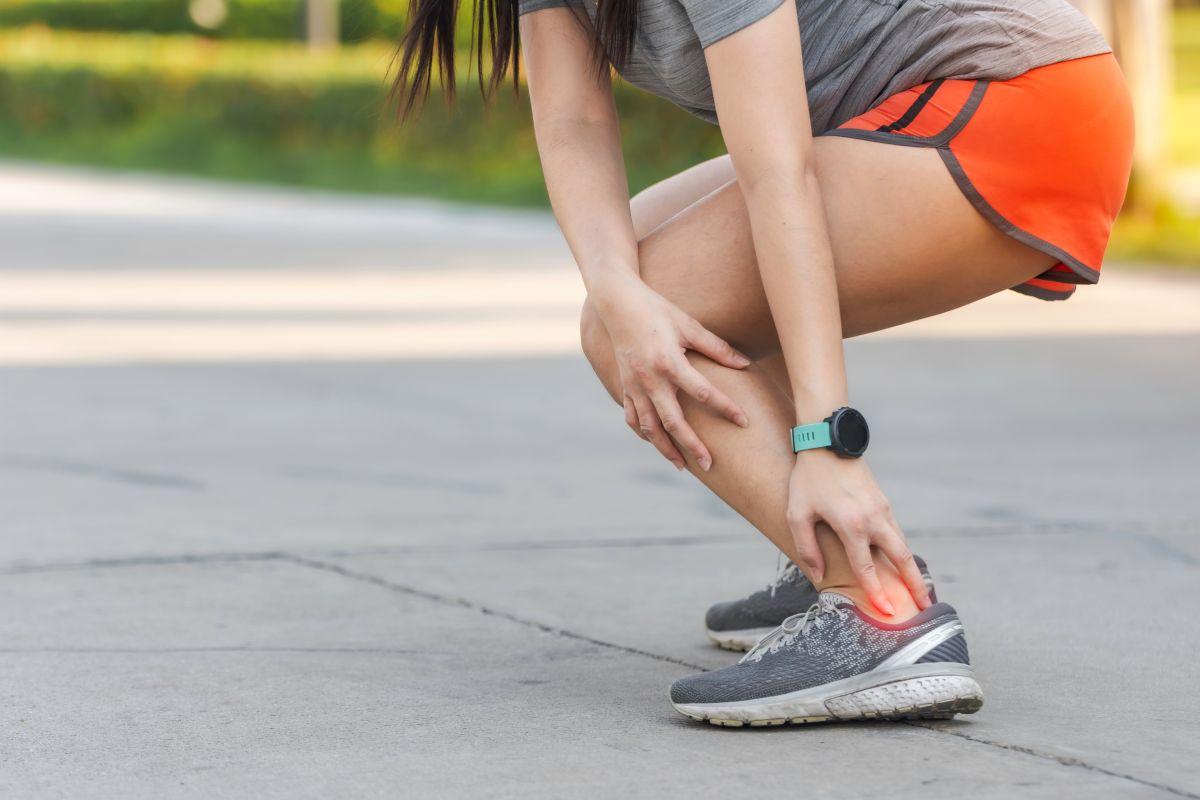 Lesioni ai tendini durante l'allenamento